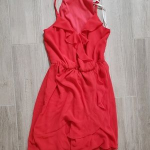 IZbyer red jumpsuit